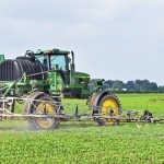 soybean spraying