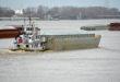 mississippi river barge