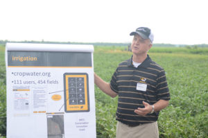 Gene Stevens irrigation by maturity types