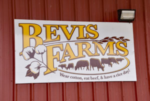 bevis farms sign