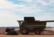 MSU soybean harvest